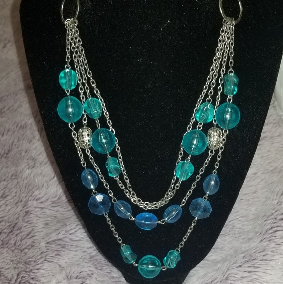 Jewelry - 4 strand beaded necklace